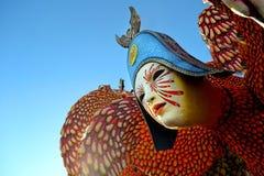Carnaval in Viareggio, Italië Stock Afbeelding