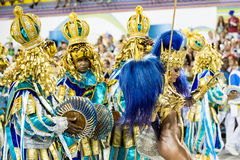 Carnaval 2016 - Vila Isabel Photos stock