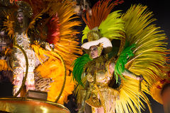 Carnaval 2016 - Vila Isabel Images libres de droits