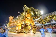 Carnaval 2017 - Vila Isabel royalty-vrije stock afbeeldingen