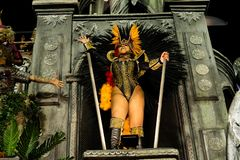 Carnaval 2019 - Viradouro imagem de stock royalty free