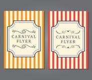 Carnaval-Vliegermalplaatje Stock Foto's