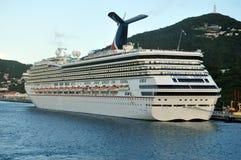 Carnaval-Vrijheidsschip Stock Afbeelding