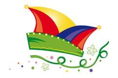 Carnaval, wimpels stock illustratie