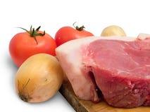 A carne é carne de porco Fotografia de Stock