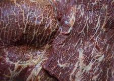 A carne é carne marmoreada Fotografia de Stock