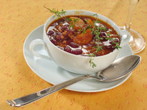 carne τσίλι con Στοκ Εικόνες