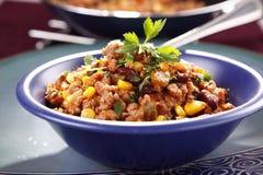 Carne жулика Chili Стоковое Изображение RF