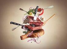 carne Fotografia de Stock