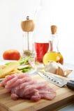 Carne affettata Immagini Stock Libere da Diritti