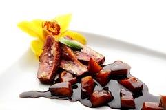 Carne affettata dell'anatra Immagini Stock