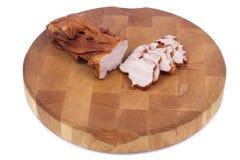 Carne affumicata Fotografie Stock Libere da Diritti