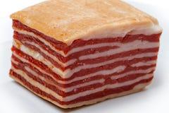 Carne ahumada de la carne de venado Foto de archivo