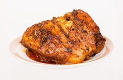 Carne al forno fotografia stock