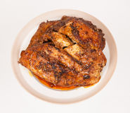 Carne al forno fotografie stock