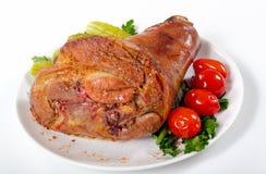 Carne al forno Immagine Stock Libera da Diritti