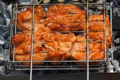 Carne arrostita Fotografie Stock Libere da Diritti