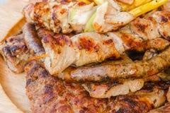 Carne arrostita Fotografie Stock
