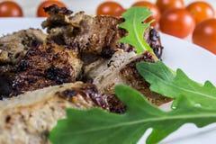 Carne arrostita Fotografia Stock