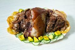 Carne arrostita Fotografia Stock Libera da Diritti