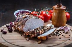 Carne arrostita Immagine Stock
