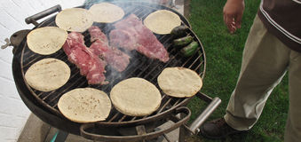 Carne Asada Stock Photo