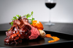 Carne asada de carne de vaca Foto de archivo