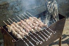 Carne asada de cerdo Imágenes de archivo libres de regalías