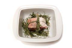 Carne asada de la carne de venado. Fotografía de archivo