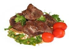 Carne asada de pote de la carne de vaca Imagen de archivo libre de regalías