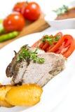 Carne asada del cordero Foto de archivo libre de regalías
