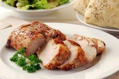 Carne asada del lomo de cerdo Imagen de archivo