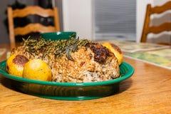 Carne asada deliciosa del puerto Foto de archivo libre de regalías
