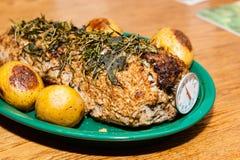 Carne asada deliciosa del puerto Foto de archivo