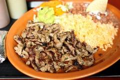 Carne asada dinner Stock Photo