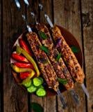 Carne asada a la parilla Imagenes de archivo