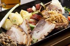 Carne asada a la parilla Fotografía de archivo