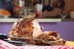 Carne asada a la parilla Imagen de archivo libre de regalías