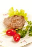 Carne asada a la parilla Imagen de archivo