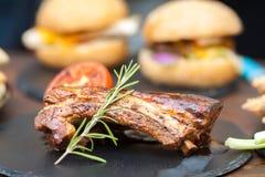 Carne asada a la parilla Foto de archivo