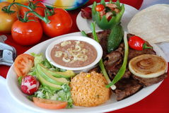 Carne asada Royalty Free Stock Images