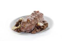 Carne asada negra del verraco Imagen de archivo libre de regalías