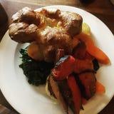 Carne asada perfecta de domingo Foto de archivo