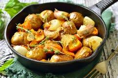 Carne asada vegetal del otoño Fotografía de archivo