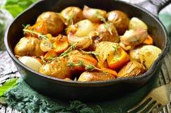 Carne asada vegetal del otoño Fotos de archivo