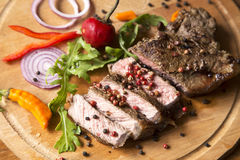 Carne assada Fotografia de Stock Royalty Free