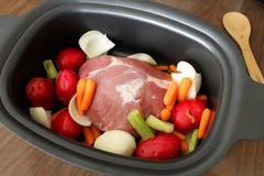Carne assada da carne de porco Fotos de Stock
