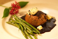 Carne assada gourmet Imagens de Stock Royalty Free