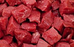 Carne britânica crua Fotos de Stock Royalty Free
