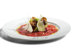Carne Carpaccio Imagem de Stock
